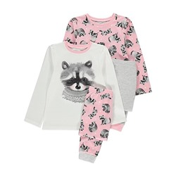 Raccoon Pyjamas 2 Pack