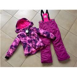 8837c532ebaf Теплый зимний мембранный комплект Valianly цвет Pink Violet Silk