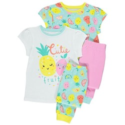 Fruit Pyjamas 2 Pack